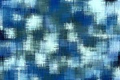 Μπλε και μαύρη βρώμικη περίληψη ζωγραφικής Στοκ εικόνα με δικαίωμα ελεύθερης χρήσης