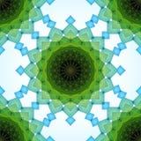 Μπλε και πράσινα συνδυασμένα διαφανή ορθογώνια επάνω ελεύθερη απεικόνιση δικαιώματος