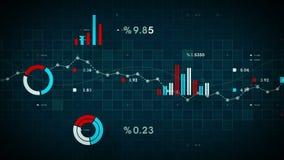 Μπλε καταδίωξης επιχειρησιακών στοιχείων απεικόνιση αποθεμάτων