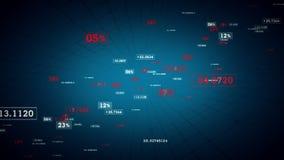 Μπλε καυτή αύξηση συνδέσεων δικτύων διανυσματική απεικόνιση