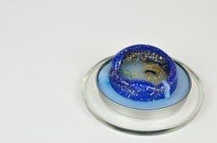 Μπλε κερί ουδετεροποίησης Στοκ φωτογραφία με δικαίωμα ελεύθερης χρήσης