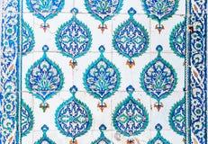 μπλε κεραμίδια Στοκ Φωτογραφία