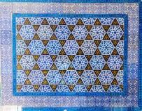 μπλε κεραμίδια Στοκ Φωτογραφίες