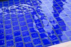 μπλε κεραμίδια Στοκ Εικόνες