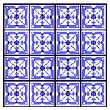 μπλε κεραμίδι Στοκ φωτογραφία με δικαίωμα ελεύθερης χρήσης