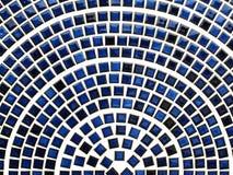 μπλε κεραμικά κεραμίδια Στοκ Εικόνα