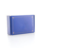 Μπλε κιβώτιο Στοκ Εικόνα