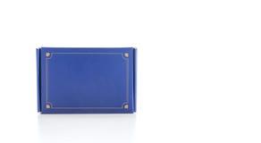 Μπλε κιβώτιο Στοκ Φωτογραφία