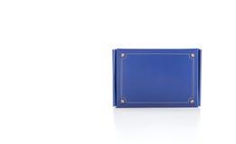 Μπλε κιβώτιο Στοκ φωτογραφίες με δικαίωμα ελεύθερης χρήσης