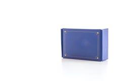 Μπλε κιβώτιο Στοκ εικόνες με δικαίωμα ελεύθερης χρήσης