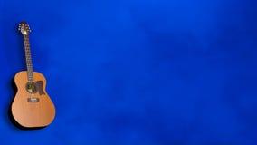 Μπλε κιθάρων Στοκ Φωτογραφία