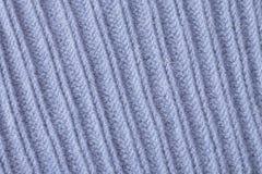 Μπλε κινηματογράφηση σε πρώτο πλάνο σύστασης κασμιριού μαλλιού Στοκ εικόνες με δικαίωμα ελεύθερης χρήσης