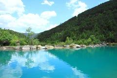 μπλε κοιλάδα φεγγαριών της Κίνας lijiang Στοκ εικόνες με δικαίωμα ελεύθερης χρήσης