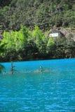 μπλε κοιλάδα φεγγαριών της Κίνας lijiang Στοκ φωτογραφία με δικαίωμα ελεύθερης χρήσης