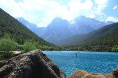 μπλε κοιλάδα φεγγαριών της Κίνας lijiang Στοκ Φωτογραφίες