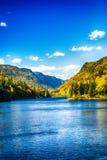 μπλε κοιλάδα Στοκ Εικόνα