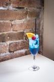μπλε κοκτέιλ Στοκ Εικόνα