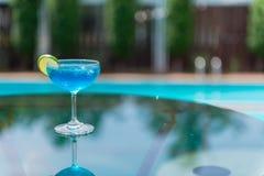 μπλε κοκτέιλ Στοκ φωτογραφίες με δικαίωμα ελεύθερης χρήσης