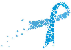 Μπλε κορδέλλα απεικόνιση αποθεμάτων