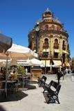 Μπλε κτήριο κοκκόρων, Λα Frontera Jerez de Στοκ φωτογραφίες με δικαίωμα ελεύθερης χρήσης