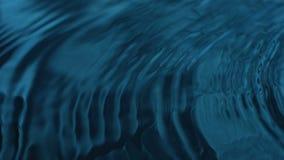 Μπλε κυματισμών νερού ελεύθερη απεικόνιση δικαιώματος