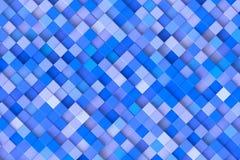 μπλε κύβοι Στοκ Εικόνες