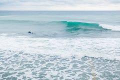 Μπλε κύματα στον ωκεανό Στοκ φωτογραφία με δικαίωμα ελεύθερης χρήσης