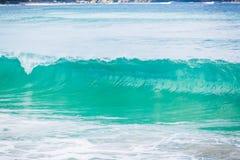 Μπλε κύματα στον ωκεανό Στοκ Εικόνα