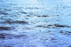 μπλε κύματα σύστασης Στοκ Εικόνες