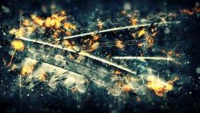 μπλε κύματα φλογών ανασκόπησης αφαίρεσης Στοκ φωτογραφία με δικαίωμα ελεύθερης χρήσης