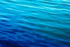 μπλε κύματα ύδατος Στοκ εικόνες με δικαίωμα ελεύθερης χρήσης
