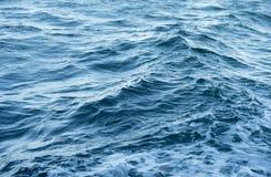 μπλε κύμα θάλασσας Στοκ Εικόνες