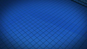 Μπλε κύμα διανυσματική απεικόνιση