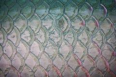 Μπλε κλίμακες ψαριών μετάλλων Στοκ φωτογραφία με δικαίωμα ελεύθερης χρήσης