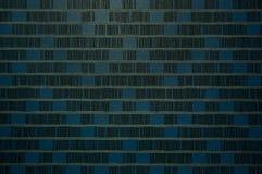 Μπλε κλωστοϋφαντουργικό προϊόν υφάσματος τόνου Στοκ φωτογραφίες με δικαίωμα ελεύθερης χρήσης