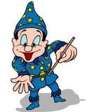 μπλε μάγος Στοκ Εικόνα