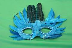 Μπλε μάσκα φτερών Στοκ φωτογραφία με δικαίωμα ελεύθερης χρήσης