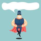 Μπλε μάσκα Superhero Στοκ Φωτογραφία