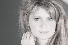 Μπλε μάτια Στοκ φωτογραφίες με δικαίωμα ελεύθερης χρήσης