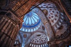 μπλε μέσα στο μουσουλμ&al Στοκ εικόνα με δικαίωμα ελεύθερης χρήσης