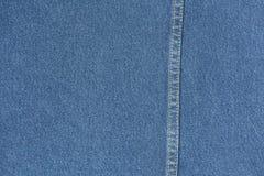 Μπλε μακρο σύσταση υφάσματος Jean για το υπόβαθρο Στοκ φωτογραφία με δικαίωμα ελεύθερης χρήσης