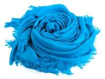 Μπλε μαντίλι Στοκ Εικόνες