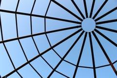 μπλε μαλακός Ιστός απόχρωσης αραχνών Στοκ εικόνες με δικαίωμα ελεύθερης χρήσης