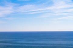 μπλε μεγάλα θαλάσσια βάθη Στοκ Φωτογραφία