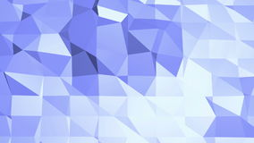 Μπλε μεταλλική χαμηλή πολυ επιφάνεια κυματισμού ως υπόβαθρο κινούμενων σχεδίων Μπλε polygonal γεωμετρικό δομένος περιβάλλον ή να  ελεύθερη απεικόνιση δικαιώματος