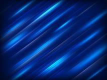 μπλε μοντέρνος ανασκόπηση 10 eps Στοκ Φωτογραφίες