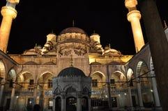 Μπλε μουσουλμανικό τέμενος, εσωτερικό Στοκ εικόνες με δικαίωμα ελεύθερης χρήσης