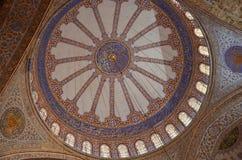 Μπλε μουσουλμανικό τέμενος, Ιστανμπούλ Στοκ φωτογραφία με δικαίωμα ελεύθερης χρήσης