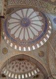Μπλε μουσουλμανικό τέμενος, Ιστανμπούλ Στοκ Εικόνες