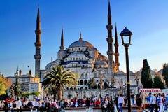 Μπλε μουσουλμανικό τέμενος Κωνσταντινούπολη Στοκ φωτογραφία με δικαίωμα ελεύθερης χρήσης